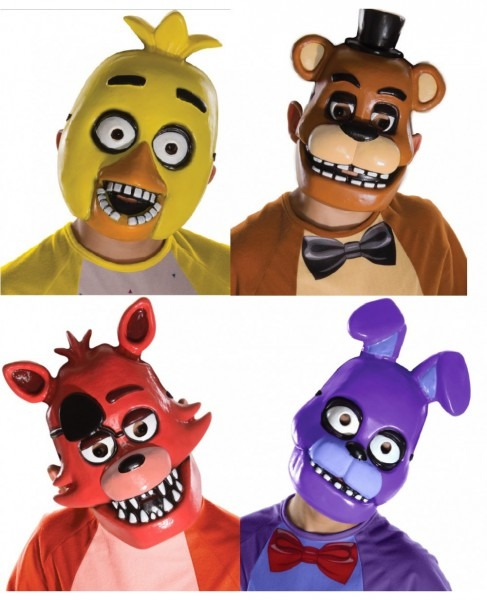 Five Nights At Freddy's Child Mask (choose Your Mask)