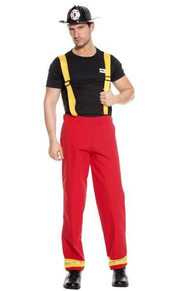 Fire Fighter Hero Men's Costume
