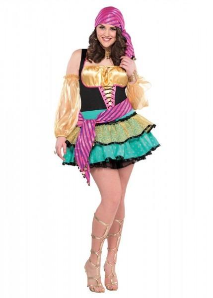 Mystifying Gypsy Women Plus Size Costume