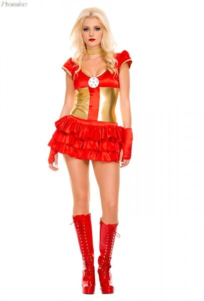 New Arrival Cosplay Superhero Iron Man Costume Halloween Costumes