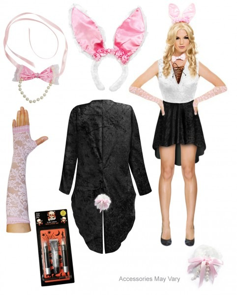 Sale! Sexy Playboy Bunny Plus Size Supersize Halloween Costume
