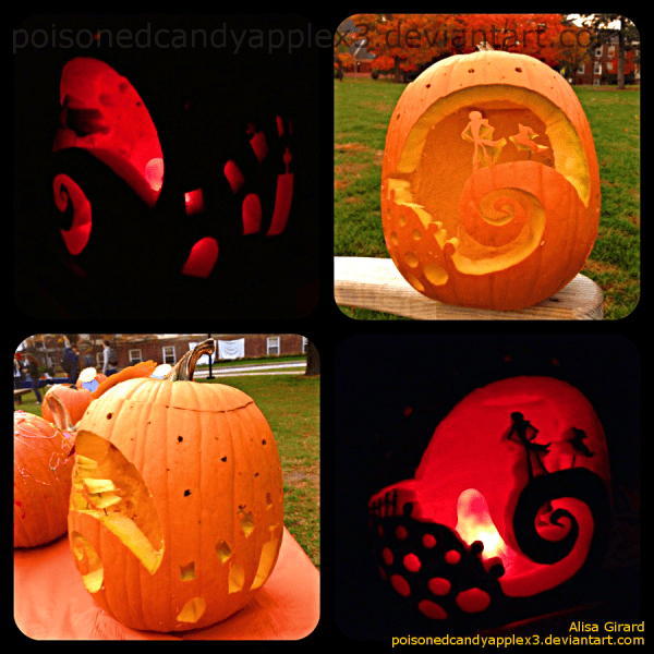 Nightmare Before Christmas Pumpkin Templates Free – Festival