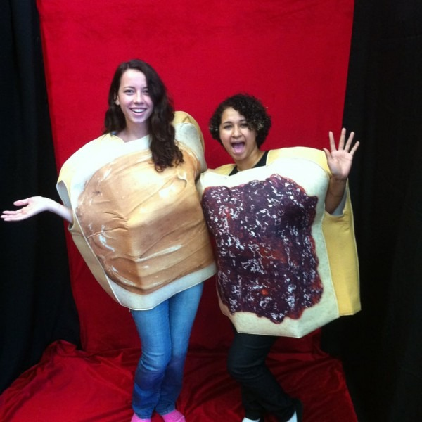 Great Couples Costume! Peanut Butter And Jelly! Two Costumes In