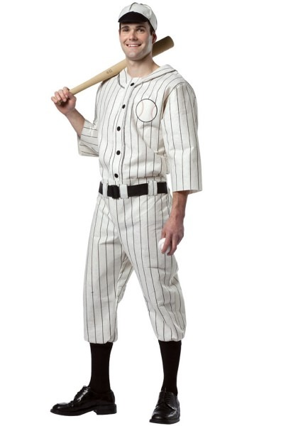 38 American Baseball Costume, American Baseball Player Costume