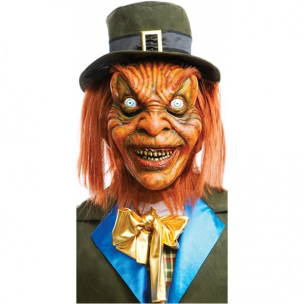 Leprechaun Mask Scary Horror Movie Costume Accessory