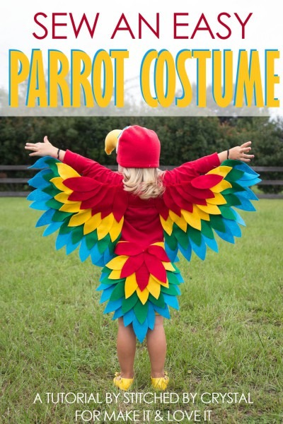 Sew An Easy Parrot Costume – Make It And Love It