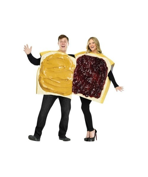 Peanut Butter N Jelly Couple Costume