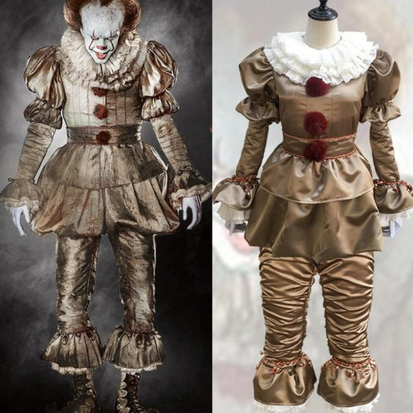Pennywise The Clown Costume Movie Stephen King's It Pennywise