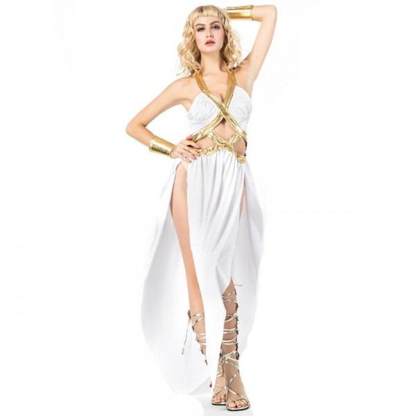 Popular Halloween Sexy Greek Goddess Costume For Women,roman