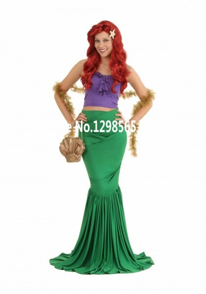 Princess Ariel Dress The Little Mermaid Ariel Princess Cosplay