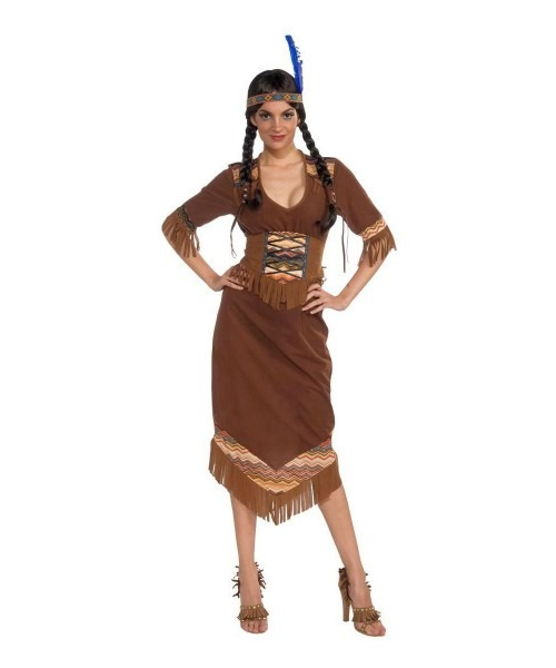 Indian Princess Little Deer Adult Costume