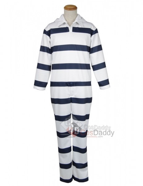 Prison School Kangoku Gakuen Prison Suit Uniform Cosplay Costume
