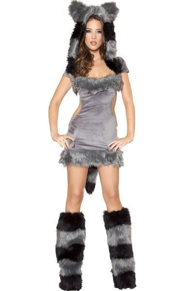 Naughty Raccoon Costume, Sexy Raccoon Costume