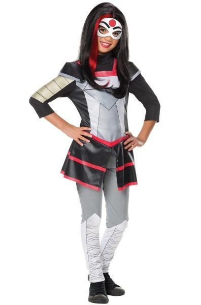 Dc Super Hero Girls Deluxe Katana Child Costume
