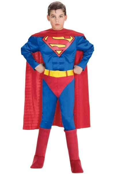Superman Deluxe Muscle Chest Superman Toddler Child Costume
