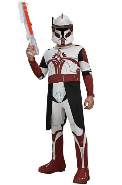 Star Wars Clone Wars Clone Trooper Commander Fox Child Costume