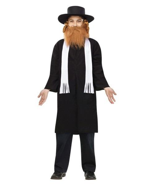 Purim Rabbi Costume