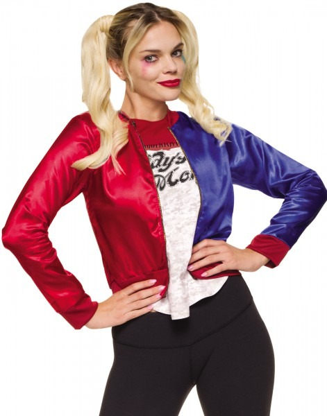 Suicide Squad Harley Quinn Jacket And Shirt Jokers Girl Halloween