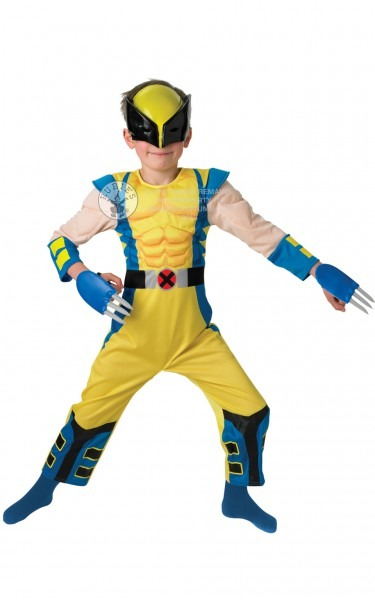 Child Wolverine Costume Fancy Dress Costumes & Party Supplies