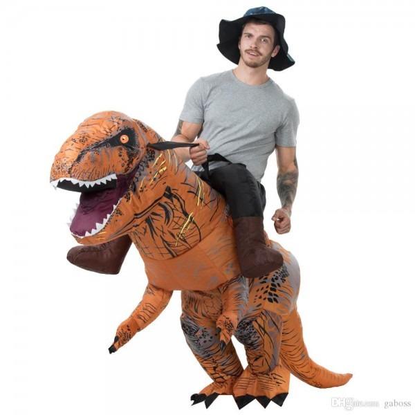 Carnival Halloween Purim Costumes For Adult T Rex Dinosaur Costume