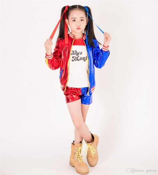 Hot Girls Costume Jacket T Shirt Tee Lil Monster Suicide Squad