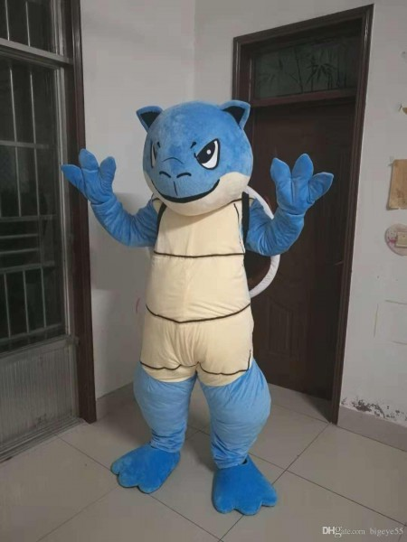 High Quality Real Pictures Squirtle Blastoise Mascot Costume Fancy