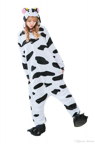 Unisex Adult Halloween Costumes Sleepsuit Costume Cosplay Kigurumi