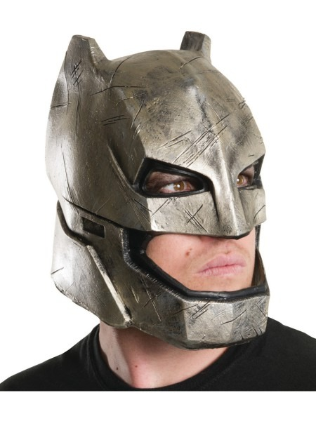 Adults Batman V Superman Dawn Of Justice Full Rubber Mask Costume