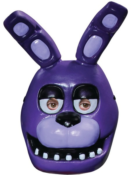 Adults Five Nights At Freddy's Bonnie Rabbit 1 2 Mask Costume