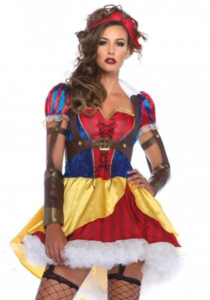 Rebel Snow White Halloween Costume