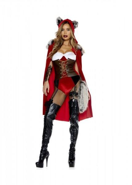 Red Haute Storybook Character Women Costume