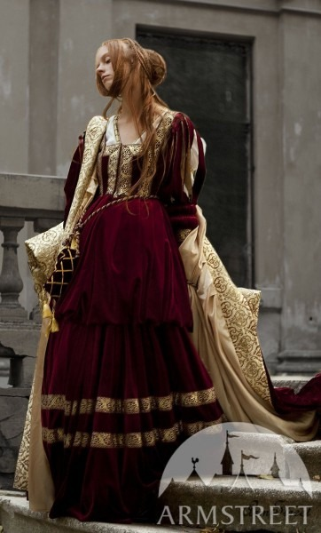 Renaissance Dress For Queen Or Princess Character Garb For Sale