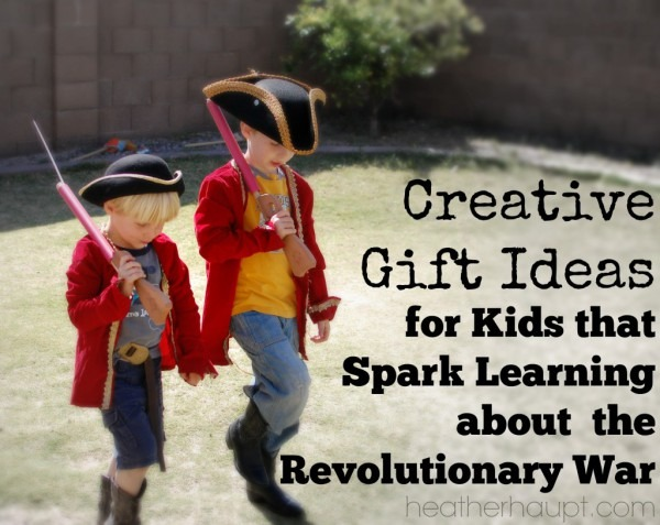 Colonial And Revolutionary War Themed Gifts (day 4)