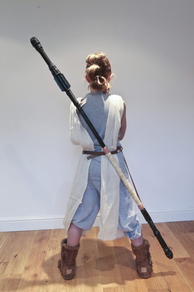 Tutorial   How To Make A Diy Star Wars Rey Staff On A Budget