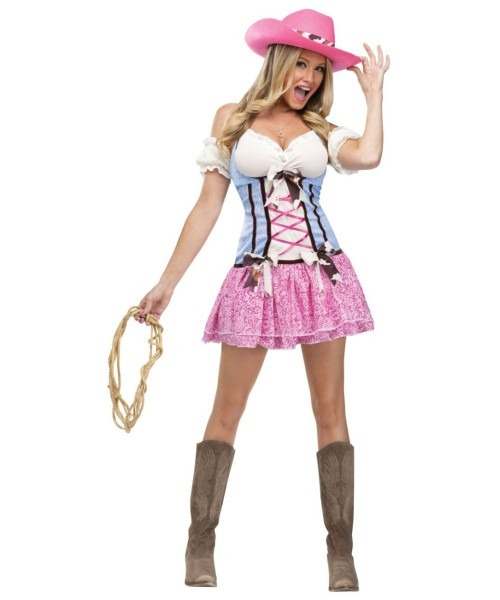 Cowgirl Rodeo Sweetie Adult Costume