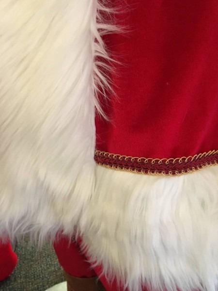 Victorian Era Santa Suit
