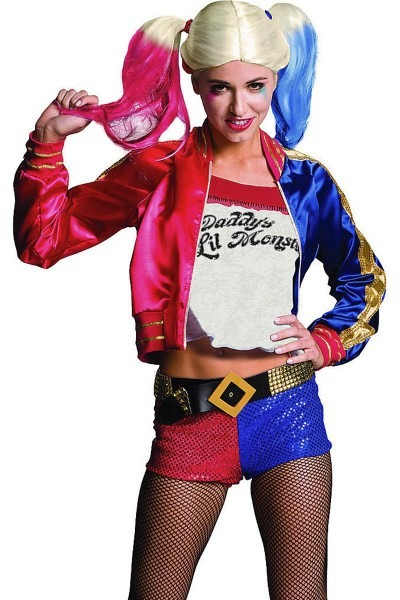 Suicide Squad Harley Quinn Costume, Harley Quinn Cosplay