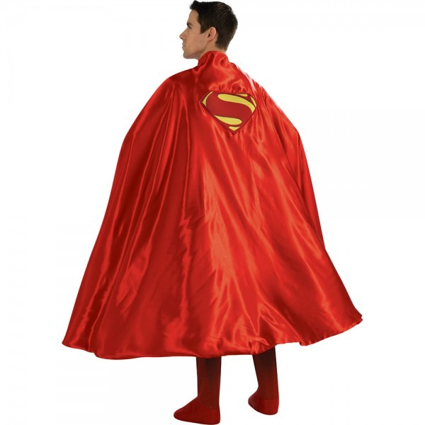 Adult Deluxe Superman Cape Costume Accessory 883028820207