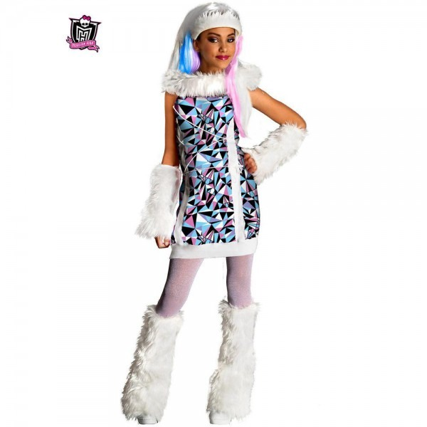 Rubie's Costumes Girls Monster High Abbey Bominable Costume