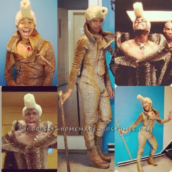Coolest Diy Ruby Rhod Costume From The Fifth Element