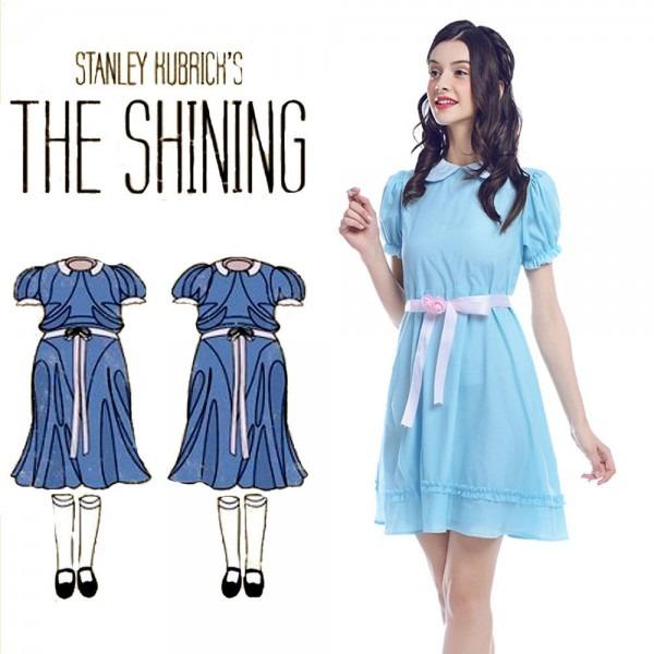 The Shining Grady Twins Lisa And Louis Blue Lolita Dress Hallowee
