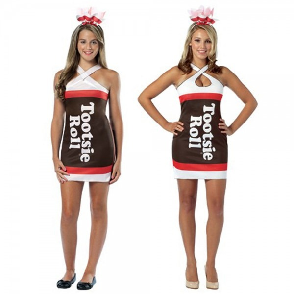 Adult Teen Candy Chocolate Treat Tootsie Roll Fancy Costume