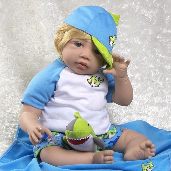 Paradise Galleries Reborn Toddler Boy Doll  Sharkey