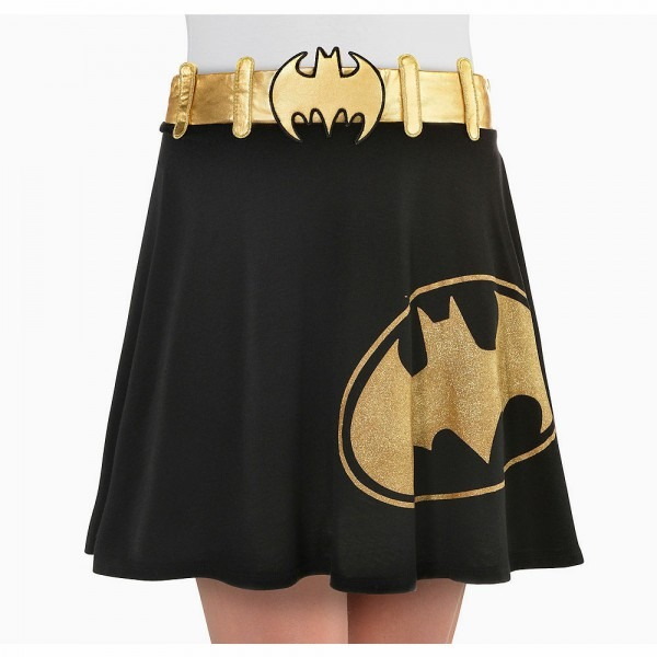 Bat Girl Skirt Adult Costume Accessory New One Size Up To Womens 8