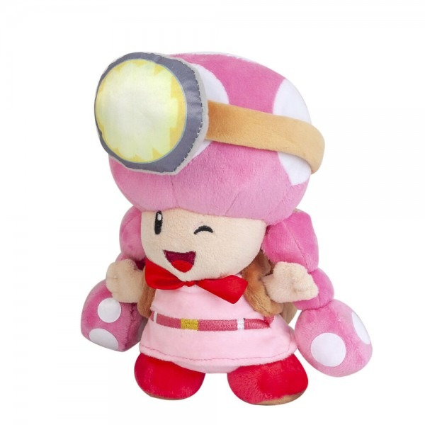 Super Mario Toadette Plush Doll Toad Mushroom Stuffed Toys Gift