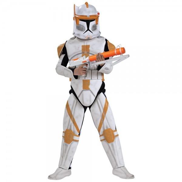 Clone Trooper Commander Cody Costume Kids Star Wars Halloween