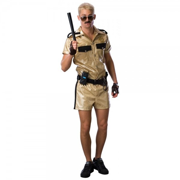 Reno 911 Costume Adult Mens Deluxe Lt  Dangle Wacky Funny Police