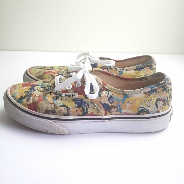Vans X Disney Princess Shoes Womens Size 6