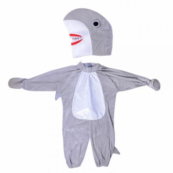 Kid Baby's Silly Shark Cosplay Animal Jaws Fancy Dress Halloween