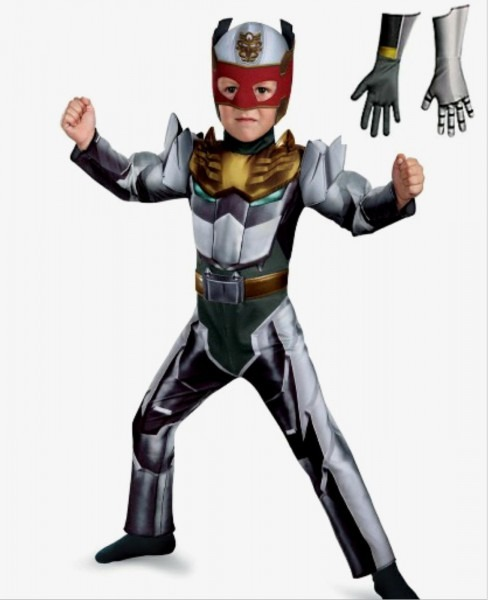 Power Rangers Mega Force Robo Knight Muscle Toddler Costume 3t